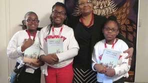 Author Lynda Blackmon Lowery, the youngest person to