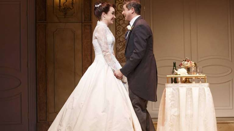 Sierra Boggess and David Burka in