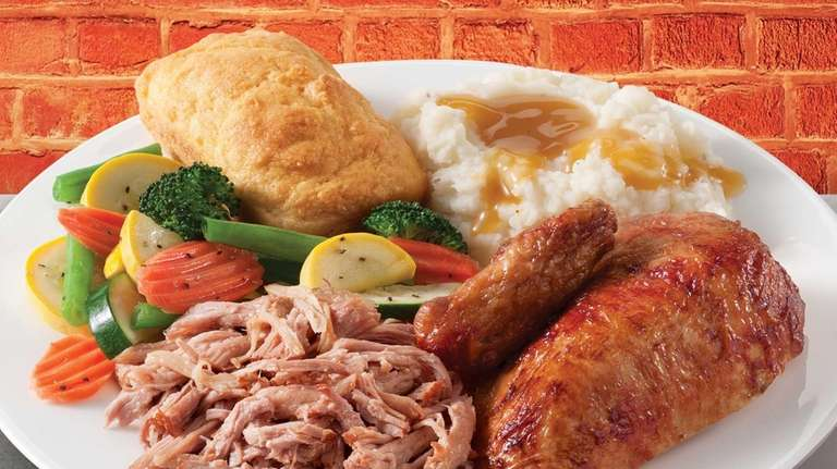 A buy-one-get-one deal at Boston Market includes its