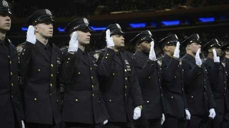 The New York City Police Department's graduating class