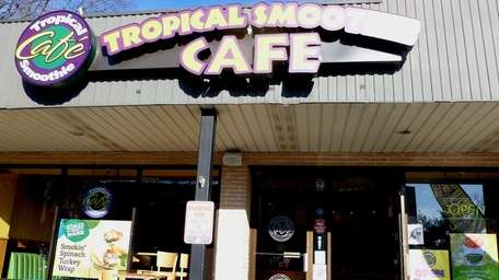 Tropical Smoothie Cafe in Huntington on Nov. 23,