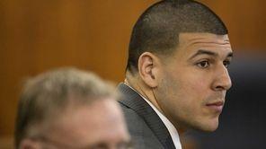 Former New England Patriots tight end Aaron Hernandez