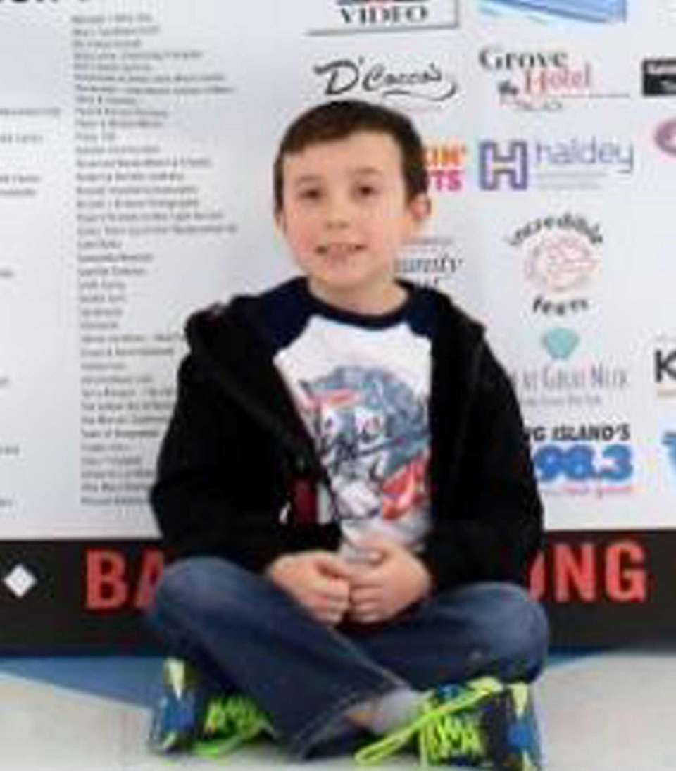 Matthew Hartmann, a second-grader at Abbey Lane Elementary