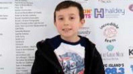 Matthew Hartmann, a second-grader at Abbey Lane Elementary