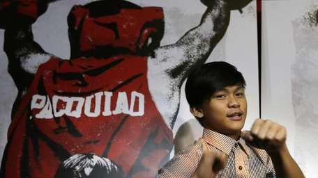 Filipino actor Buboy Villar, who plays the role