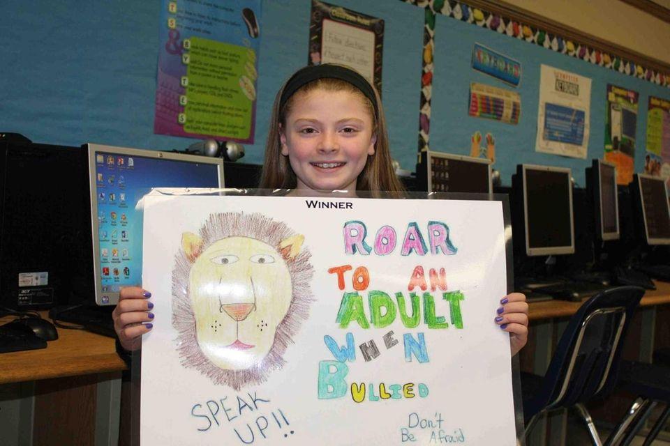 Giovana Improta, a fifth-grader at Joseph A. Edgar