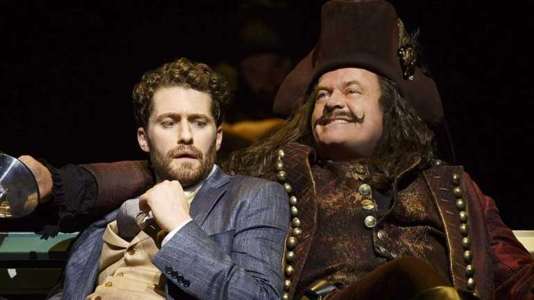 Matthew Morrison and Kelsey Grammer in