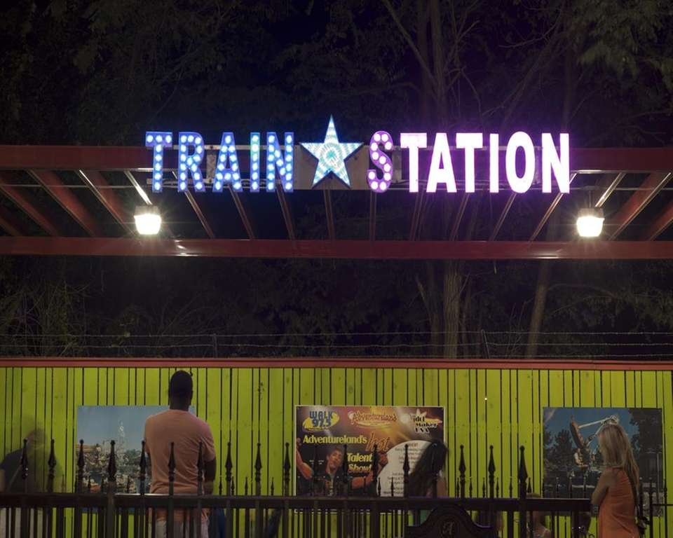Throughout the park's 53-year history, the Train Station
