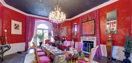 """The dining room of the """"Home Is Where"""