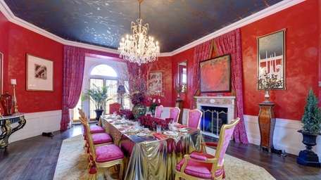 The dining room of the