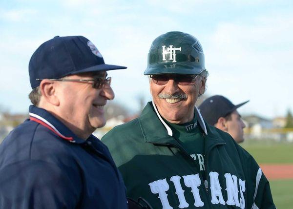 Holy Trinity coach Bob Malandro is all smiles