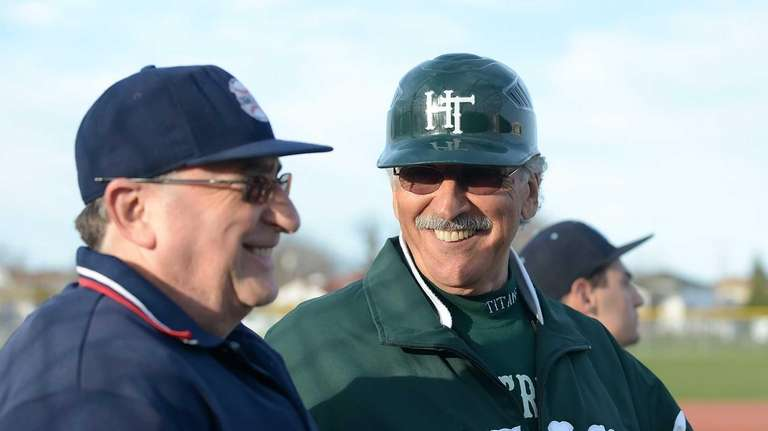 Holy Trinity coach Bob Malandro is all smiles