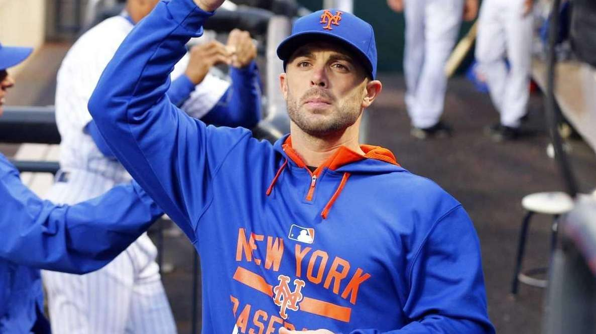 Injured David Wright of the New York Mets
