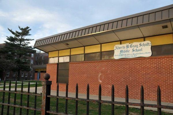 Alverta B. Gray Schultz Middle School in Hempstead,