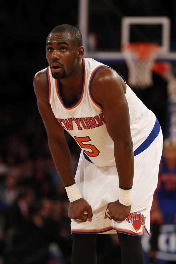 Tim Hardaway Jr. of the New York Knicks
