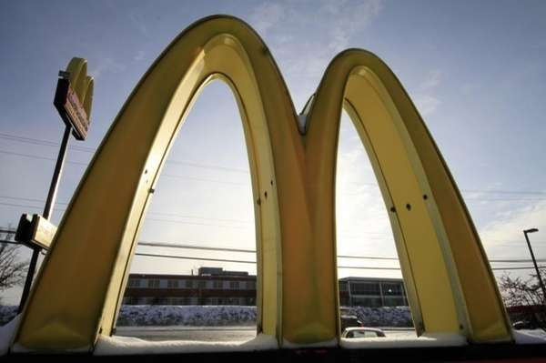 A proposal to build a McDonald's fast-food restaurant