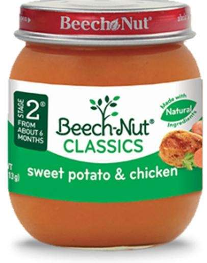 Beech-Nut recalled more than 1,900 pounds of baby