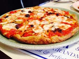 "The ""angry,"" or arrabbiata, pizza at King Umberto"
