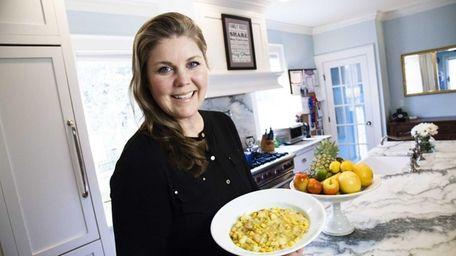 Catherine McMenamin Niggemeier of Sayville with her creamy