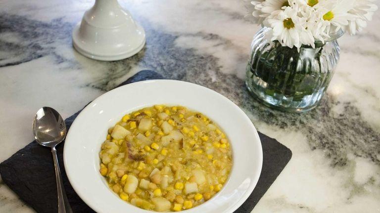 A bowl of Catherine McMenamin Niggemeier's creamy potato