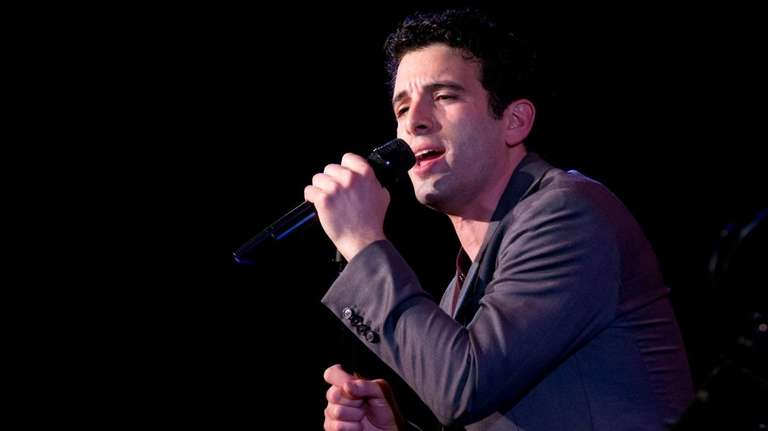 Jarrod Spector performs at 54 Below in Manhattan