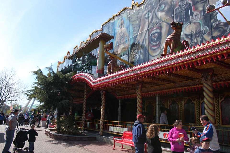 The Ghost House was imported to Adventureland from