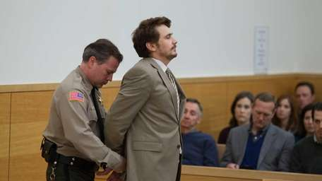 James Franco appears in a scene from