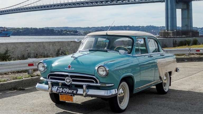 This 1957 GAZ-M21V Volga owned by Dimitri and