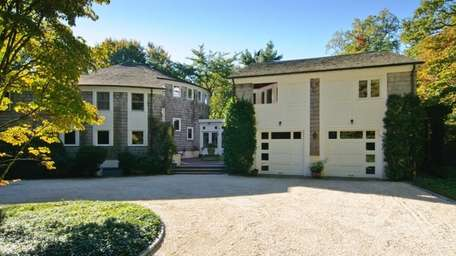 This Lattingtown colonial, on the market for $3.4