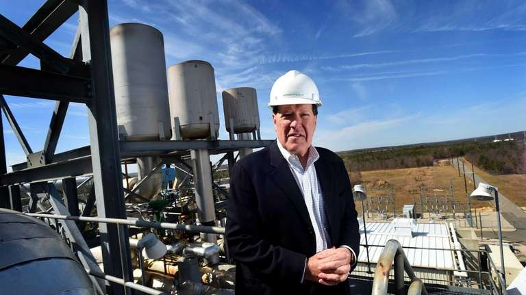 Ross Ain, president of Caithness Long Island Energy,