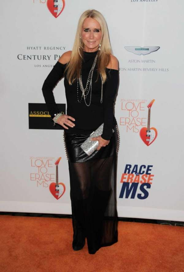Kim Richards arrives at the 20th annual Race