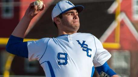 Valley Stream Central's Will DeLuca throws in a