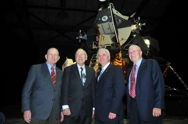 Reuniting at the Apollo 13 45th anniversary celebration
