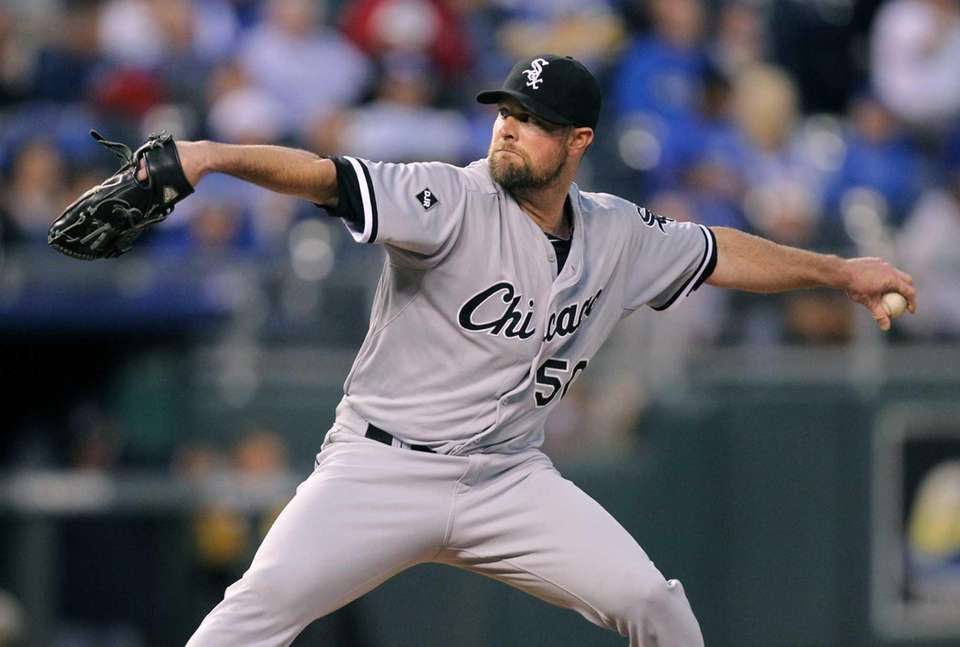 John Danks is a pitcher for the Chicago