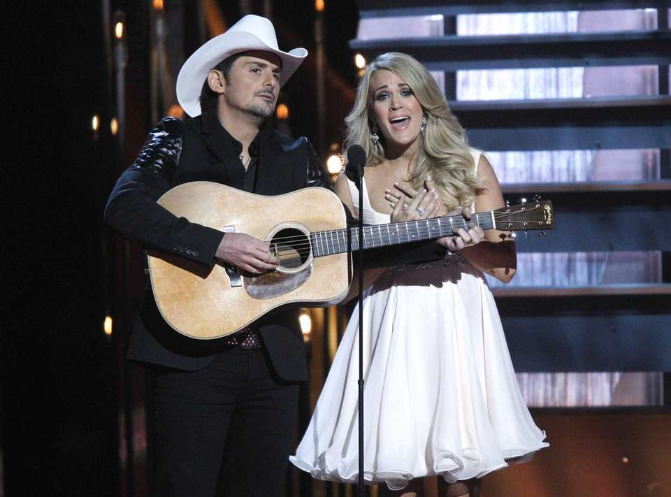 Carrie Underwood is part of a famous coupling