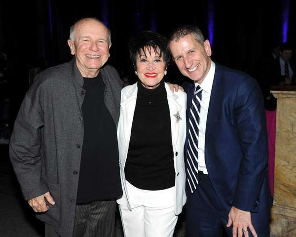 From left, Terrence McNally, Chita Rivera and Tom