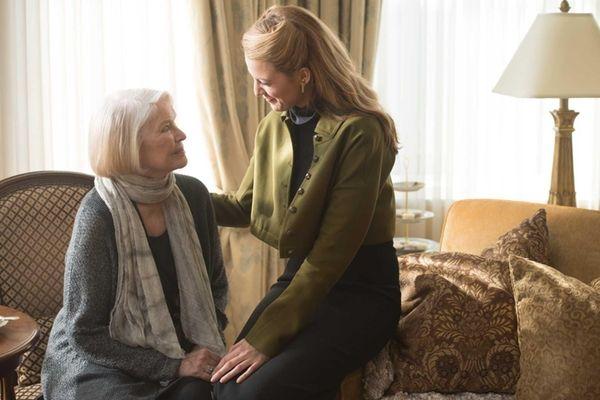 Ellen Burstyn and Blake Lively in a scene