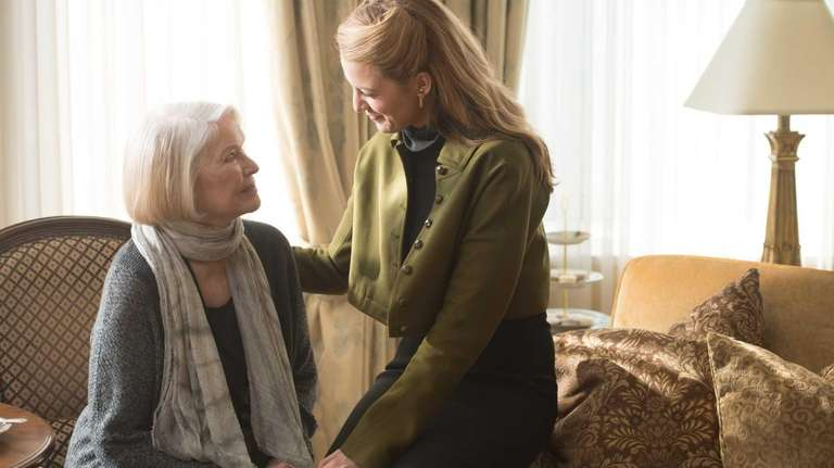 Ellen Burstyn and Blake Lively in a scene