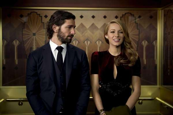 Ellis Jones (Michiel Huisman) and Adaline Bowman (Blake