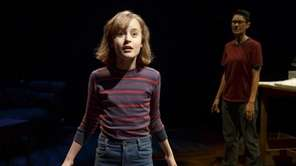 """Sydney Lucas and Beth Malone in """"Fun Home,"""""""