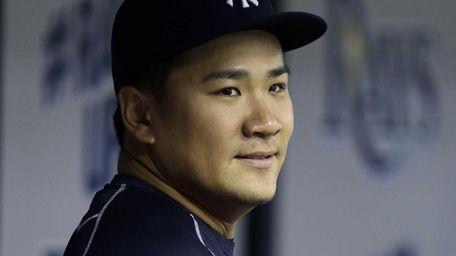 New York Yankees pitcher Masahiro Tanaka, of Japan,