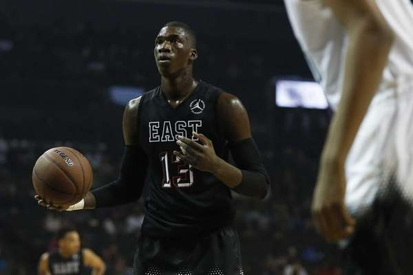 Cheick Diallo of the All-American Boys East Team