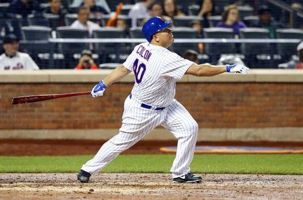 Bartolo Colon of the New York Mets follows