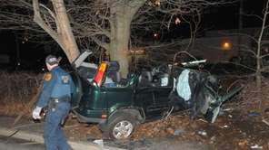 A Lindenhurst man was killed and when he