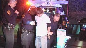 Gerard Tegins, 20, of Port Jefferson, is arrested