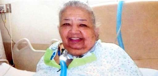 An undated photo of Aurelia Rios, 72, who