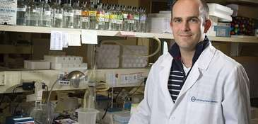 Christopher Vakoc, a scientist at Cold Spring Harbor