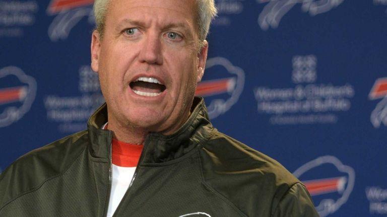 Buffalo Bills head coach Rex Ryan responds to