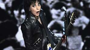 Inductee Joan Jett of Joan Jett and The