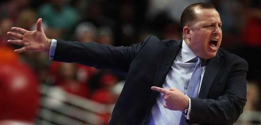 Head coach Tom Thibodeau of the Chicago Bulls